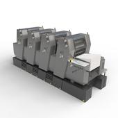 Heidelberg-4-colour-printer