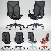 Cosm Chairs_Mid Back
