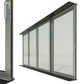 Panoramic sliding system Window Door