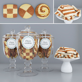 Chess cookie jars