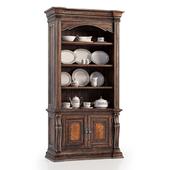 Hooker Furniture Bookcase / Service Louise Platinum