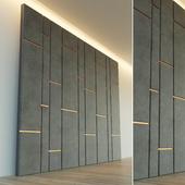 Декоративная стена. Мягкая панель.