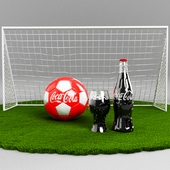 Football and Coca-Cola