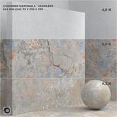 Material (seamless) - coating, concrete, plaster set 68