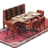 Furniture set for restaurant