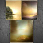 Paintings abstract   set 329