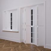 Set of classic windows