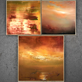 Paintings abstract   set 330