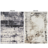Temple and webster: Blue Veil Imperial Rug, Gray Abstract Boston Rug