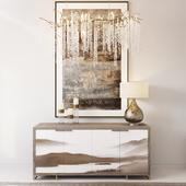 Dresser with decor_1