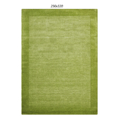 Temple and webster: Luxor Wool Pistachio Contemporary Rug