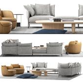 Moroso Moooi Sofa Set