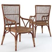 Natalia Rattan Living Room Chair