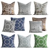 Austen throw pillow
