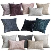 Italian Lustrous Velvet Pillow Cover - Lumbar