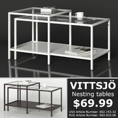 IKEA VITTSJO Nesting tables
