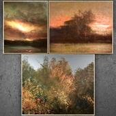 Paintings abstract   set 332