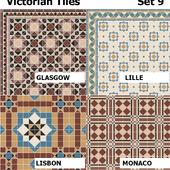 Topcer Victorian Tiles Set 9
