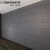 Wall Panel 33. Stone Bricks