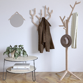 Furniture for anteroom Coat rack Ambroise by Harto