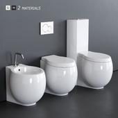 Scarabeo Ceramiche Planet WC art. 8401 art. 8402 art. 8404