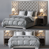 Restoration Hardware / Edie Tufted Bed Collection