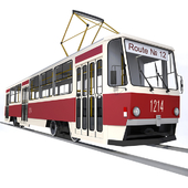 Трамвайный вагон серии Tatra T6B5