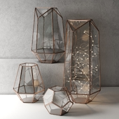 Lanterns Metalwork Hurricane