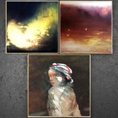 Paintings abstract | set 335