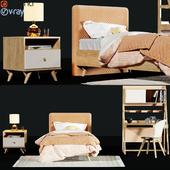 Childroom Full furniture set_3dce_3