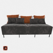 Metal Sofa Combo