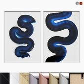 DESENIO Blue Swirl