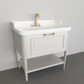 washbasin with drawer