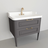 washbasin with two drawers