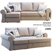 Ikea Backabro 2 (2 sofas)