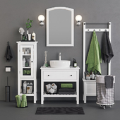 Open Hemnes Bath Set