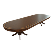 Dining table with veneer 07