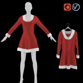 Рождественское платье