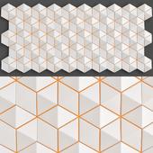 Futuristic 3D Wall Panel