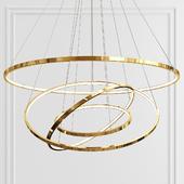 Golden Slim Four Rings