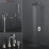 GROHE bath and shower faucets | Grandera Gold set 27