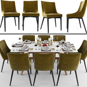 Blaisell Parsons Dining Chair Set