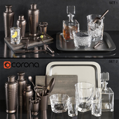 Restoration hardware Barware set02