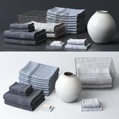 Набор полотенец для ванной