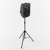 Speaker_Skytec JPA-12 + stand