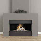 Fireplace modern 40