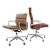 Vitra Soft Pad Chairs EA 217 219