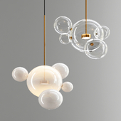 Suspension light Giopato & Coombes Bolle 5 Lamp