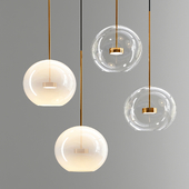 Suspension light Giopato & Coombes Bolle Mono Lamp