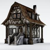 Старый средневековый дом